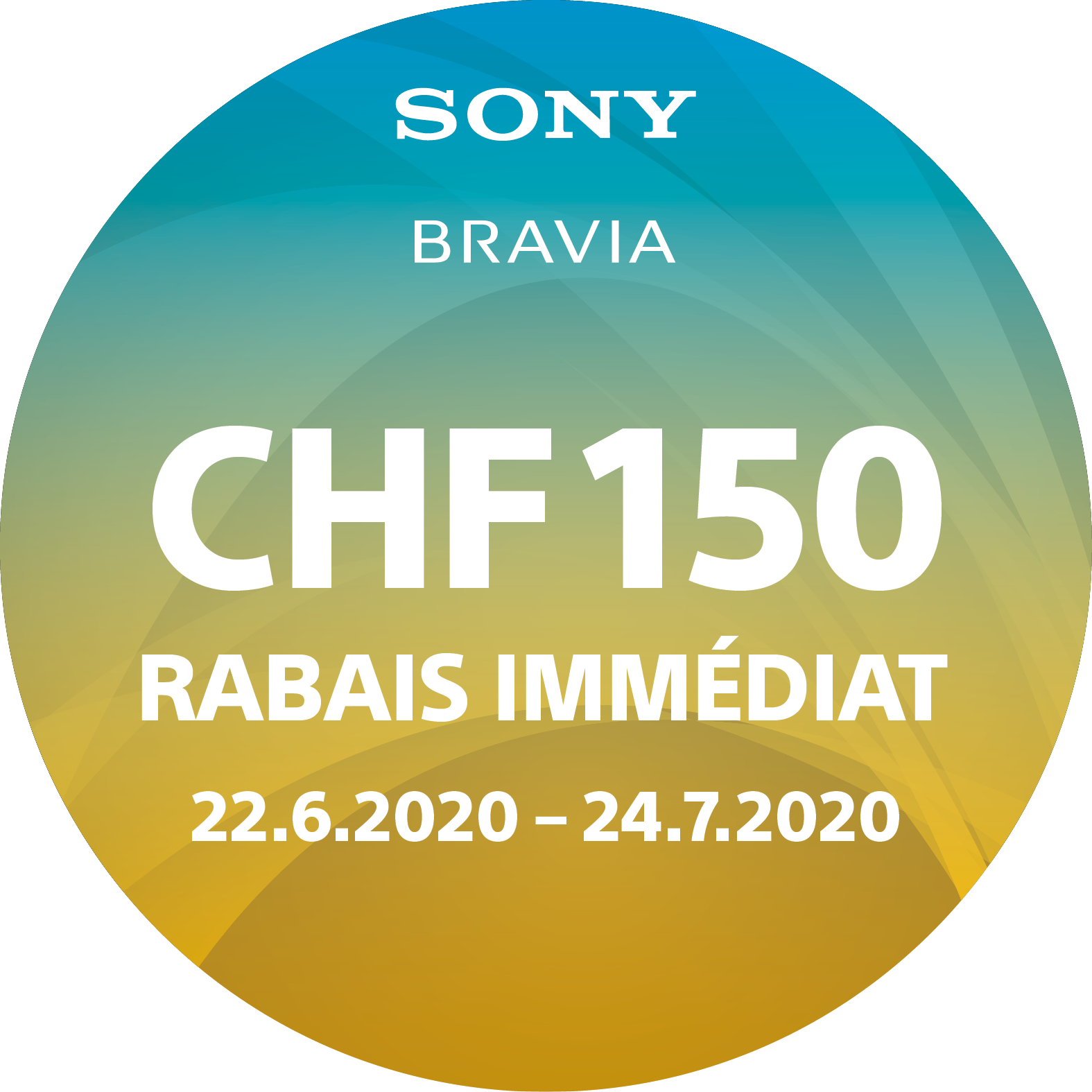Avec code d'action «SONYCB20»