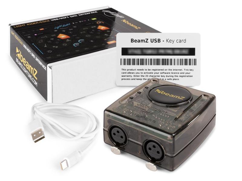 BeamZ Lichtsteuerung Light Rider / ESA2 USB / WiFi
