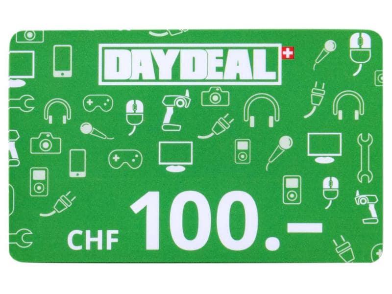 DayDeal.ch Geschenkkarte CHF 100.-