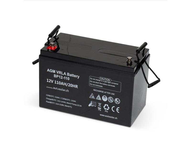 autosolar Batterie AGM  110 Ah 12 V