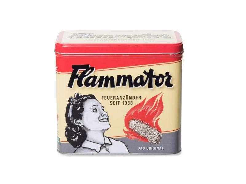 Flammator Grillanzünder mit Nostalgiedose, 50 Stück