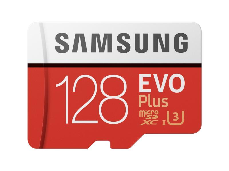 Samsung microSDXC-Karte Evo Plus UHS-I U3 128 GB