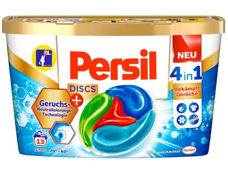 Persil Waschmittel Kapseln Color Discs Gegen schlechte Gerüche 13 Stück