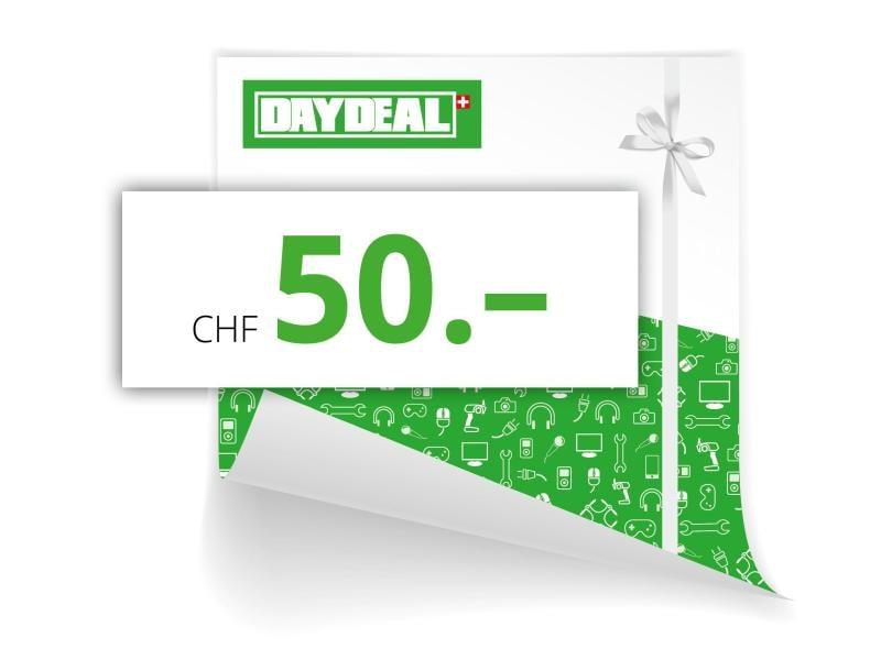 DayDeal.ch Online-Geschenkgutschein CHF 50.-