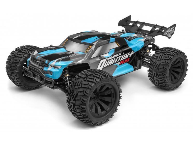 Maverick Stadium Truck Quantum+ XT Flux 4WD, ARTR, Blau, 1:10