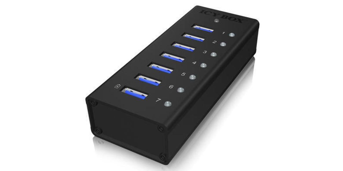 ICY BOX USB-Hub IB-AC618