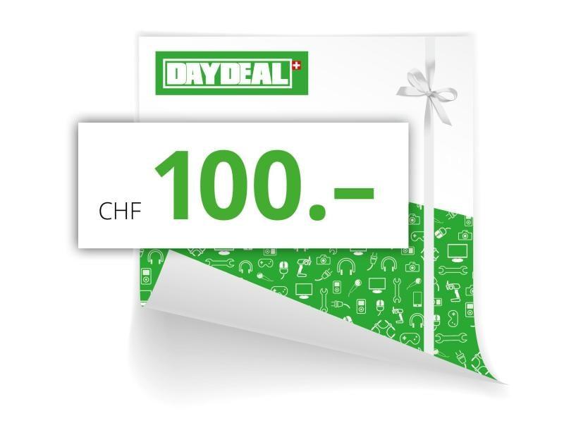 DayDeal.ch Online-Geschenkgutschein CHF 100.-