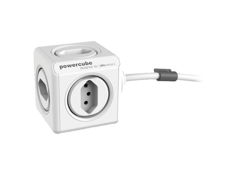 Allocacoc Tischsteckdosenleiste PowerCube Extended 5x T13