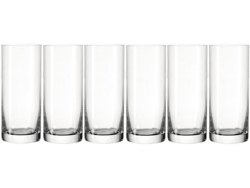 Leonardo Trinkglas Easy 3.5 dl, 6 Stück, Transparent