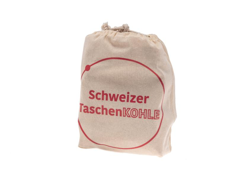 Schweizer Taschengrill Holzkohle 4-er Set à 150 g