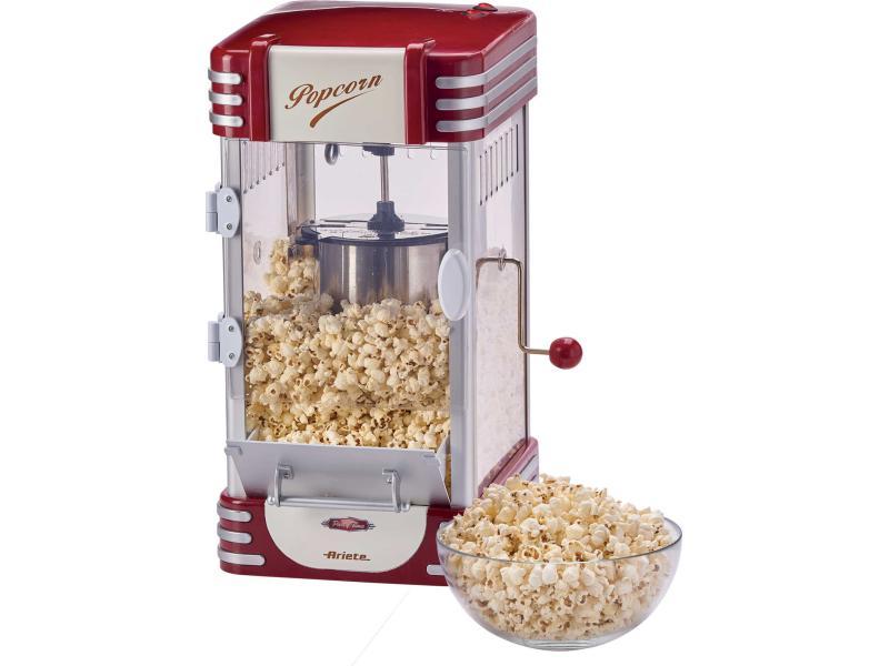 Ariete Popcorn Maschine Vintage XL Rot/Weiss