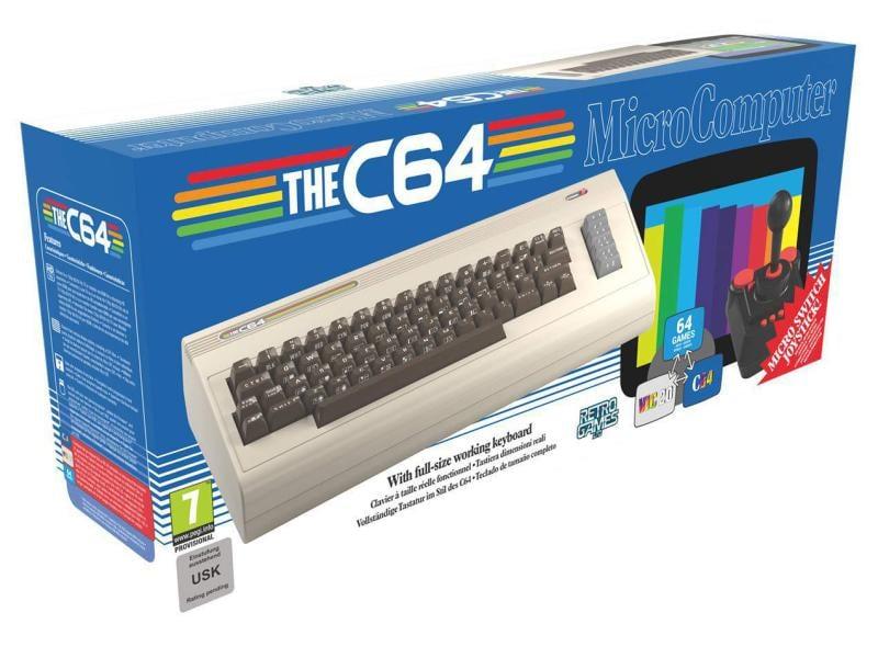 retro-bit - Spielkonsole The C64 Maxi