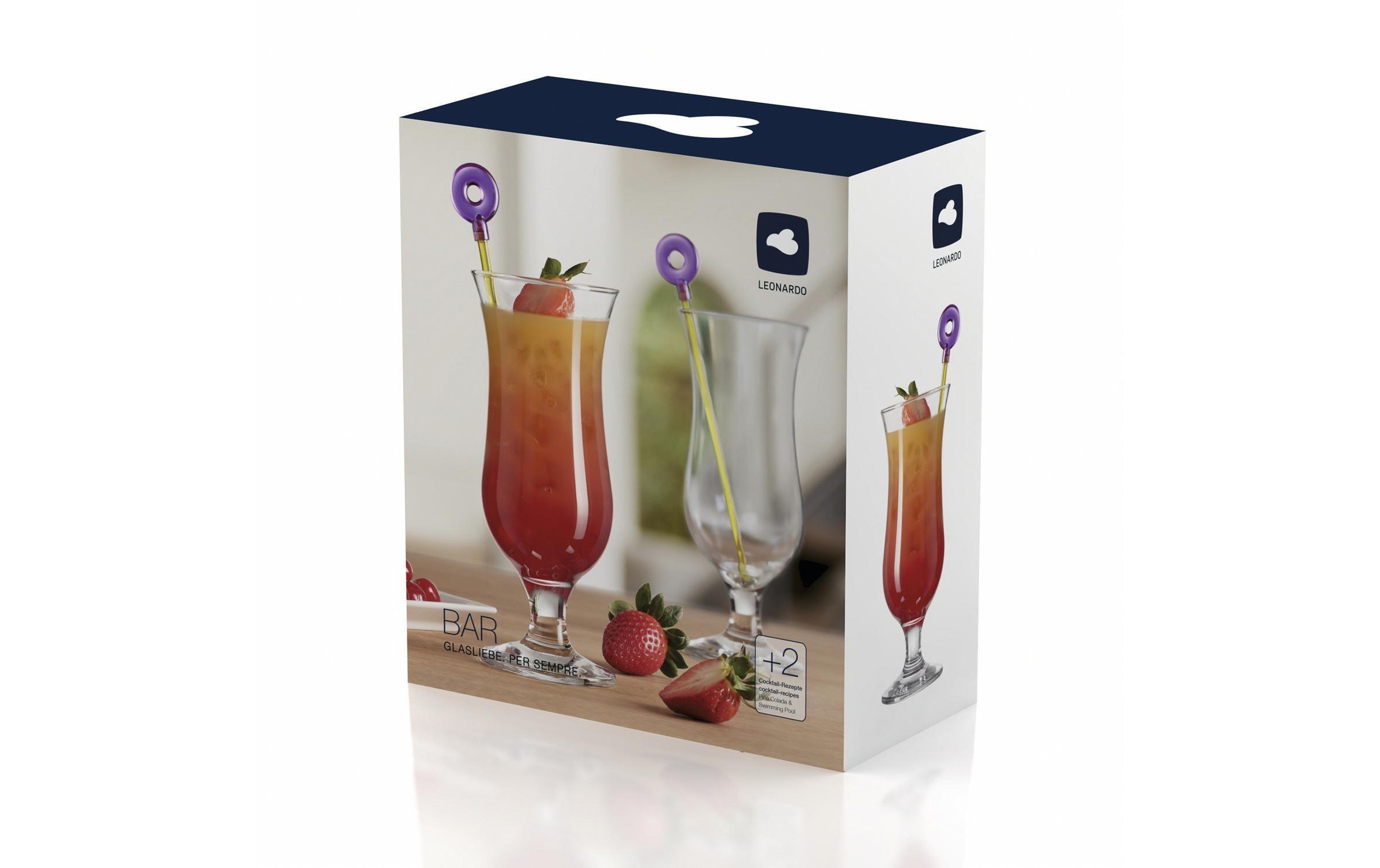 Leonardo Hurricane Glas 2er-Set Bar