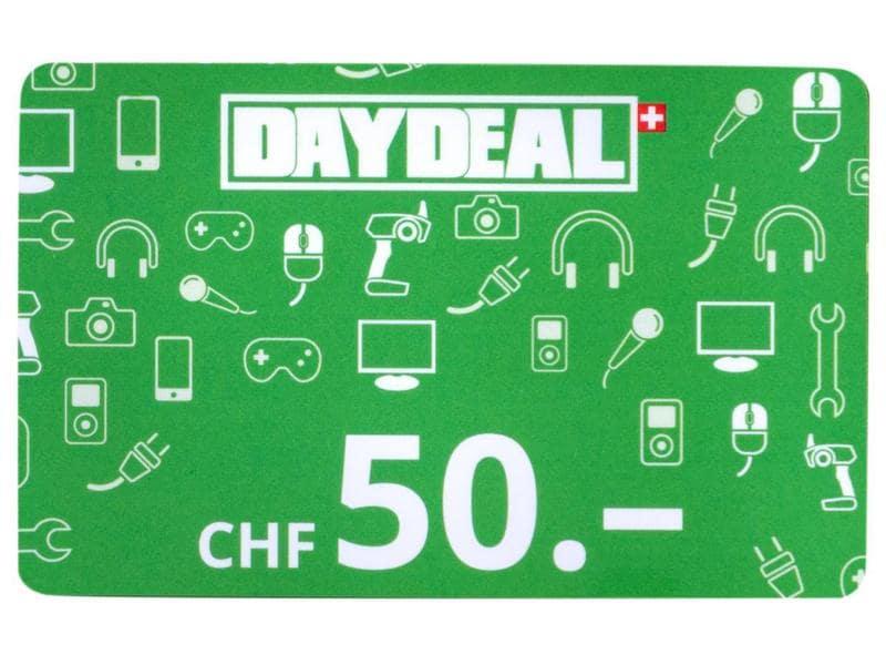 DayDeal.ch Geschenkkarte CHF 50.-
