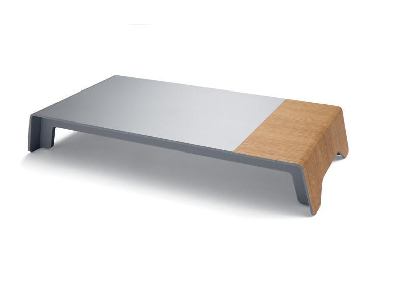 Sigel TV-/Display-Standfuss blanko Smartstyle Braun,Silber