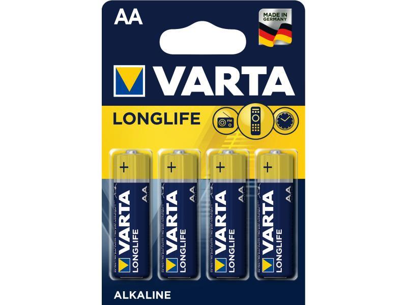 Varta Batterie Longlife AA 4 Stück