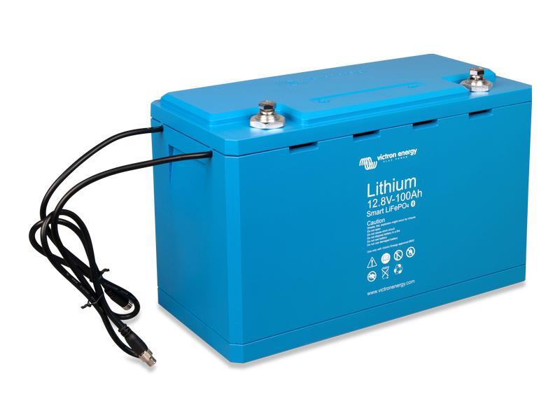 Victron Batterie LiFePO4 12.8 V 100 Ah smart