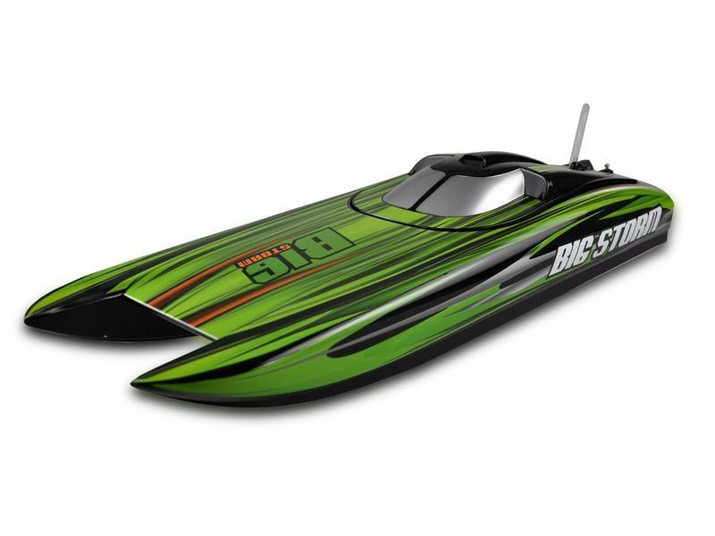 Amewi Speedboot Big Storm Rennkatamaran Brushless ARTR