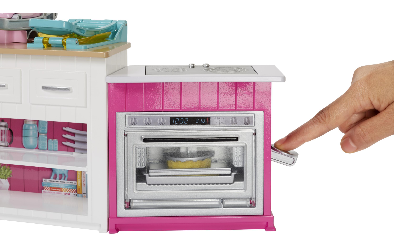Barbie Spielset Cooking Baking Deluxe Kuche Mit Puppe