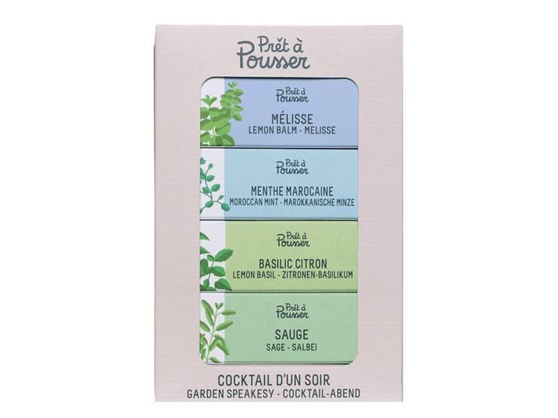 Prêt à Pousser Saatgut Homemade Cocktail 4er Pack