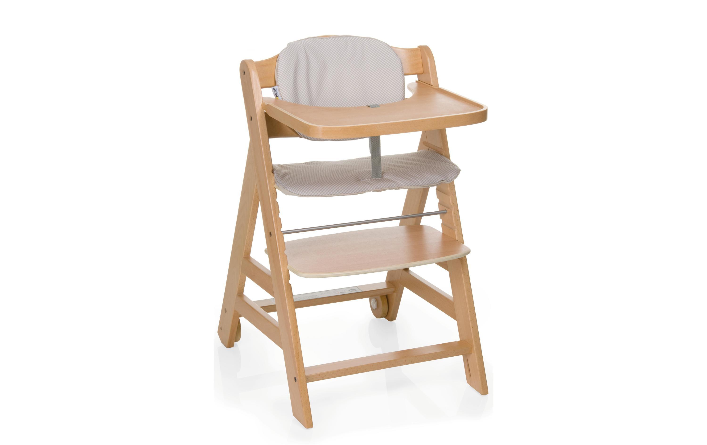 Hauck Chaise haute Beta avec planche à manger et oreiller