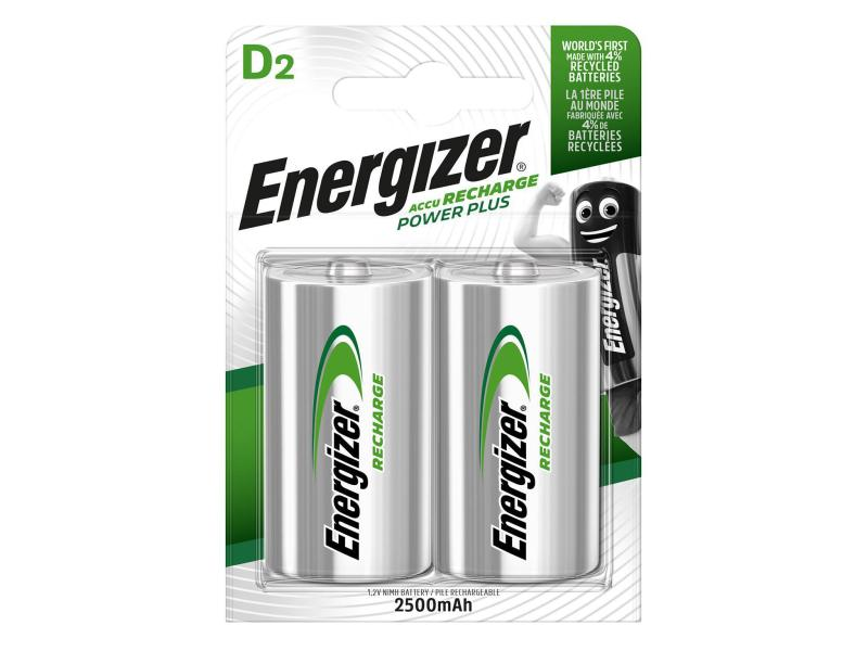 Energizer Akku Power Plus D 2500 mAh