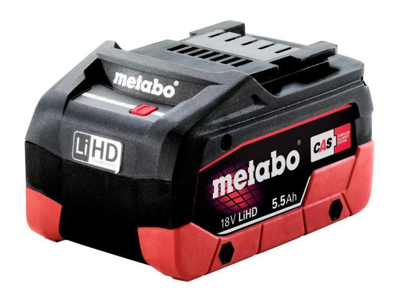 Metabo Akku 18 V, 5,5 Ah, LiHD