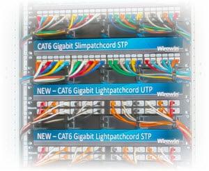 Wirewin Slimpatchkabel - Doppelt geschirmtesTwisted-Pair-Kabel (F/FTP) mit Klinkenschutz-a
