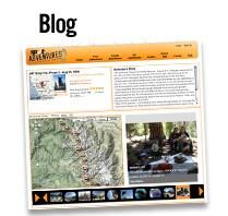 Blog: Führen Sie auf Ihrer Adventure-Seite ein Tagebuch in Form eines Blogs. So begeistern Sie nicht nur die Leser Ihrer Webseite, sondern können sich später an Ihrem persönlichen Reisebericht erfreuen.
