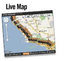 Live Map: Machen Sie Ihre Abenteuer für alle zugänglich. Ihre Freunde und Bekannte können Ihre Route live über die gestreamten Aktualisierungen auf der Landkarte Ihres Accounts verfolgen.