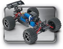 Traxxas E-Revo 1:16 VXL - 4WD-Monster-Truck inkl. 2,4-GHz-Fernsteuerung-a