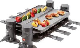 Trisa Raclette Connect 4 plus 4 - Raclette-Grill-a
