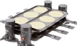 Trisa Raclette Connect 4 plus 4 - Raclette-Grill-b
