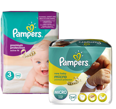 Pampers Sortiment