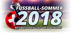Aktionen und Wettbewerb - Fussball-Sommer 18