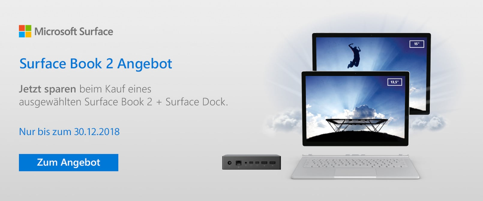 Microsoft Surface Book 2 Angebot