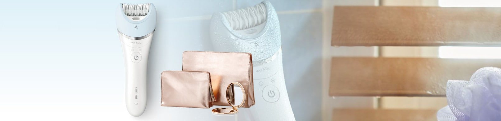 Philips Epilierer inkl beauty bags