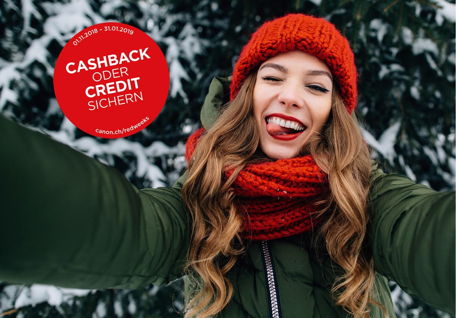 Cashback oder Credit sichern